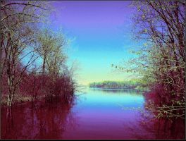 River in spring by surrealistic-gloom