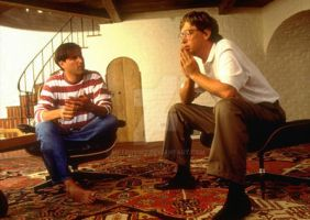 Bill Gates and Steve Jobs by metrovinz