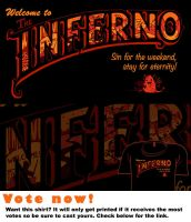 Woot Shirt - Welcome To The Inferno by fablefire