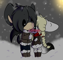Bby Its Cold Outside by DoodleFoxx