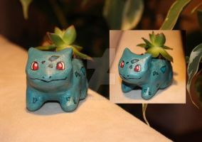 Bulbasaur Plant Pot by NaliaDeArnise