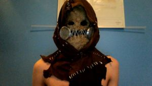 Scarecrow Arkham asylum cosplay - Mask WIP by MichaelsComics