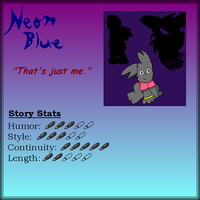 Author Card: Neonic by Neon-Blue-27