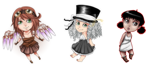 Chibi Samples by Cocodoo