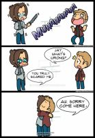 JtoJ: Gag Reel Season 10 by KamiDiox