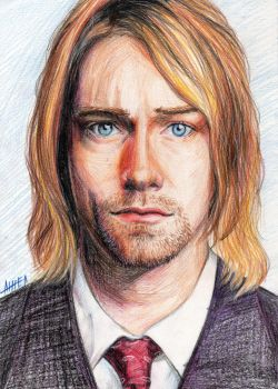 Kurt Cobain by AngelISKRA