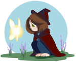 Smol Witchsona by ratopiangirl