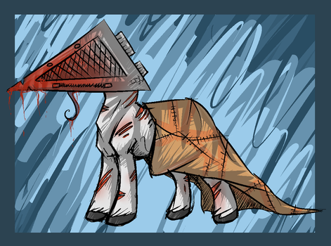 Pyramid Head Pony by That-Goose