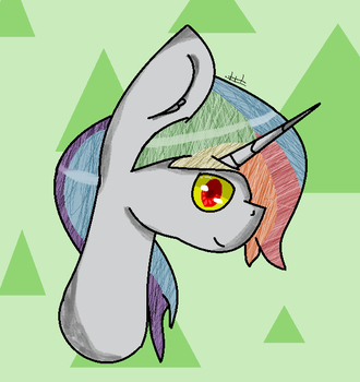 a gift for WhiteRainbowYT :3 by Tayswi