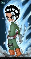 Rock Lee's Extreme Lotus by spartworks