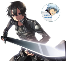 Sword Art Online - Kirito render by KaiserNazrin