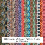 Moroccan Zellige Pattern PS by Zineb