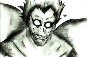 Ryuk by Andrew-Stealfh