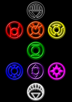 Lantern Corps Brush Set by RockDeadman