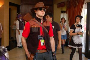 TF2 Red Sniper Anime Matsuri by Aeros15
