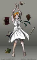WOF - Malon - Head Librarian by Chaos--Child