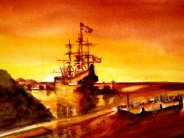 Holland's Golden Shipping by nhowell