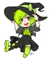 Comm: Blossy Witch sk by ryuuen