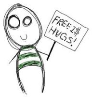 Free Hugs-1 Dollar by AnndreaLeeann