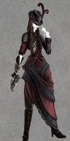 Victorian Assassin by Palepaw