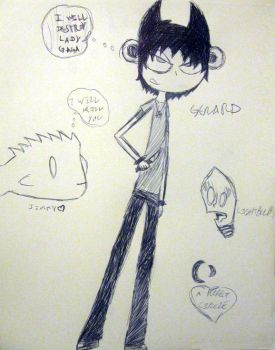 GERARD AND SOME OTHER SHIT by SouthParkSquid