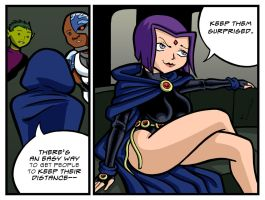 A Different Shade of Raven by lightfootcomics