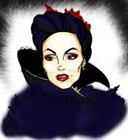 The Evil Queen by MorticiaTheCat