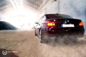 BMW in motion by DimitriBokowPhoto