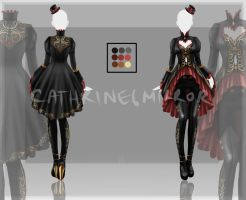 (CLOSED) Adopt Auction - Outfit 10 by cathrine6mirror