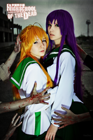 Saeko and Rei by AkinaGasai