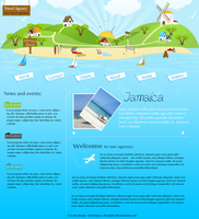 Travel agency layout by FreakDr