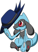 30 Day Challange : pokemon - day 1 - Riolu by Andie200