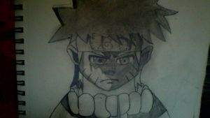 Naruto uzumaki drawing SHADED! :) by SuperSayian5Naruto