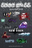 Logo Wall September 2008 by Gymdawg