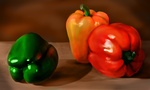 Colourful Peppers by Ruineth