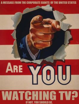 Tv-watcher poster by emoreth