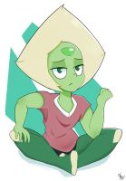 Another Peridot by OhieKhe
