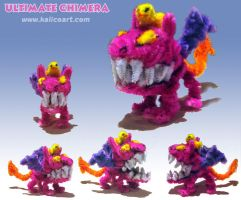 Ultimate Chimera--Pipecleaners by kalicothekat