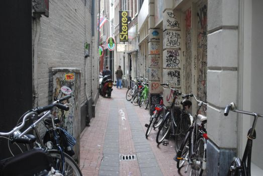 Amsterdam alley. by Thegoldencross