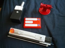 4th Doctor Props, Doctor Who by Hordriss