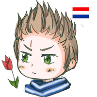 Chibi Netherlands by agitarin