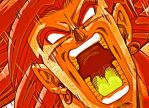 Broly Scary Face by Darkorias
