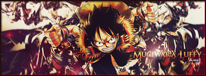 Mugiwara Luffy by Aura-Blade4