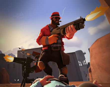 (SFM REQUEST) The guard by CobaltDrawing