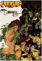 Witchblade and The Darkness by ViniVix