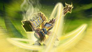Paladin WoW Legion Artifact: Holy by ncrow