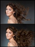 Hair Retouch by Ashish-Arora