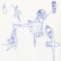 Nutcracker Sketches by kuabci