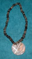 Shell Necklace II by MollyD