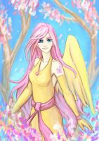 Fluttershy by a-elly